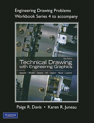 Engineering Drawing Problems Workbook Series 4 for Technical Drawing with Engineering Graphics