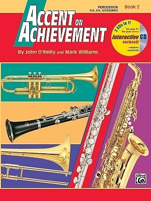Accent on Achievement, Bk 2: Percussion---Snare Drum, Bass Drum & Accessories, Book & CD