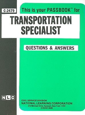 Transportation Specialist: Passbooks Study Guide