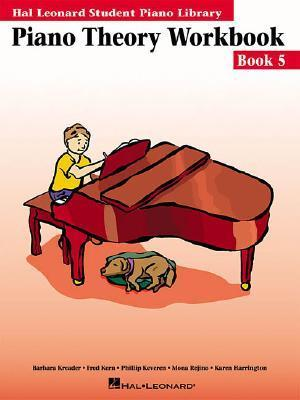 Piano Theory Workbook, Book 5 (Hal Leonard Student Piano Library (Songbooks))