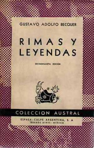 Rimas y leyendas by Gustavo Adolfo Bécquer