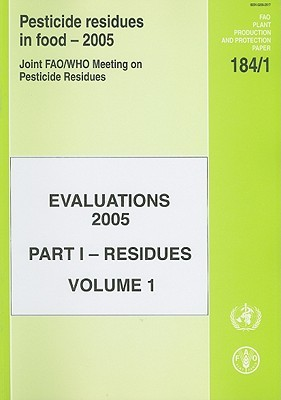 Pesticide Residues in Food: Residues Evaluation