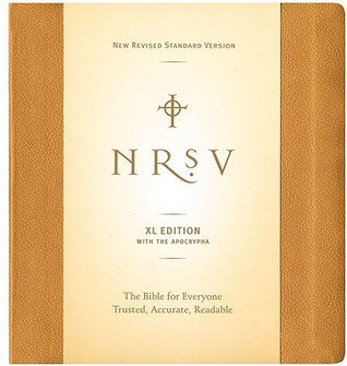 Holy Bible: NRSV XL with Apocrypha