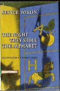 The night they stole the alphabet by sesyle joslin the night they stole the alphabet fandeluxe Choice Image