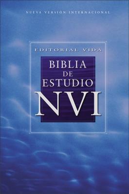 NVI Biblia de estudio, piel especial, negro, con indice