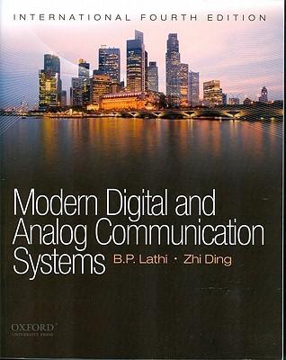 Modern Digital And Analog Communications Systems International