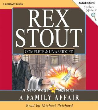 Family Affair: Nero Wolfe Mystery