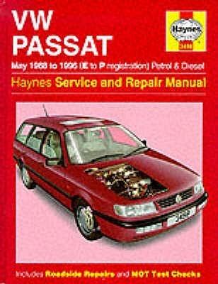 Vw Passat (88 96) Service & Repair Manual (Haynes Service And Repair Manuals)