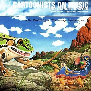 The comics journal special edition volume 2: cartoonists on music by Anne Elizabeth Moore
