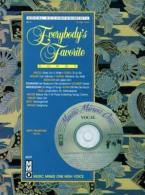 Everybody's Favorite Songs, Volume 2: For High Voice [With CD]