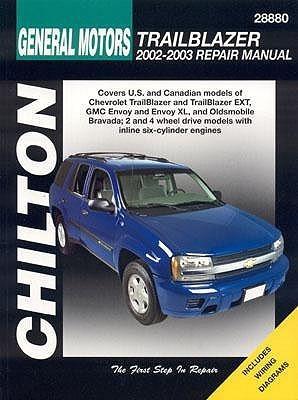 Chilton's General Motors Trailblazer 2002 And 2003 Repair Manual