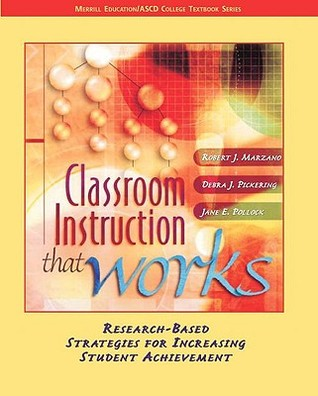 Classroom Instruction That Works Research Based Strategies For
