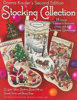 donna koolers stocking collection 14 more of donnas favorite cross stitch christmas stockings - Cross Stitch Christmas Stockings