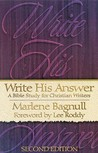 Write His Answer: A Bible Study for Christian Writers