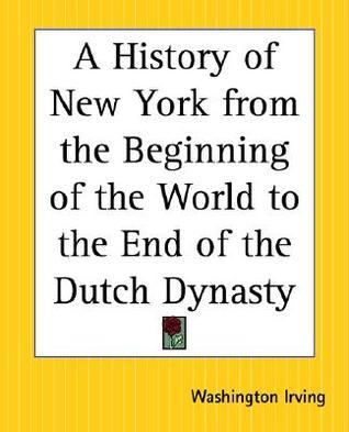a history of new york washington irving summary