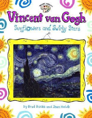 Vincent Van Gogh Sunflowers And Swirly Stars By Joan Holub