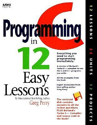 C programming in 12 easy lessons by greg perry 3504185 fandeluxe Image collections