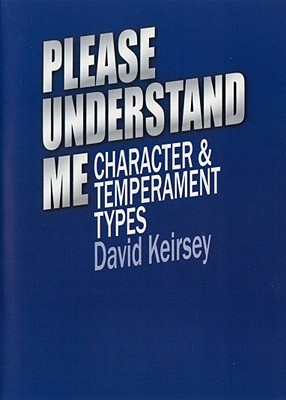 Please Understand Me DVD: Character and Temperament Types