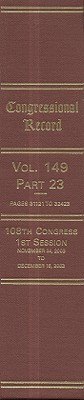 Congressional Record: Volume 149, Part 23