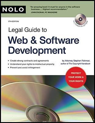 Legal Guide to Web & Software Development by Stephen Fishman