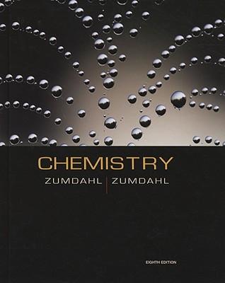 Chemistry By Steven S Zumdahl