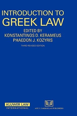 Introduction to Greek Law, 3rd Revised Edition