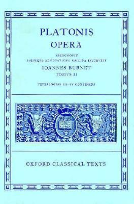Parmenides/Philebus/Symposium/Phaedrus/Alcibiades 1-2/Hipparchus/Amatores (Platonis Opera, #2)