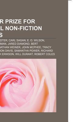 Pulitzer Prize for General Non-Fiction Winners: Douglas Hofstadter, Carl Sagan, E. O. Wilson, Barbara W. Tuchman, Jared Diamond