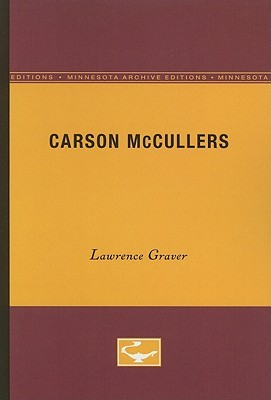 Carson McCullers: University of Minnesota Pamphlets on American Writers