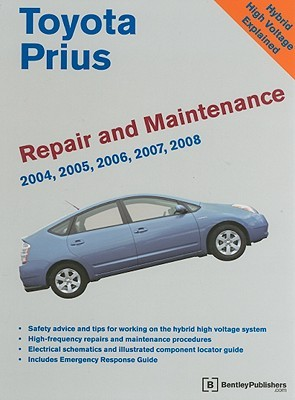 toyota prius repair and maintenance manual by bentley publishers rh goodreads com 2011 toyota prius repair manual 2010 prius repair manual