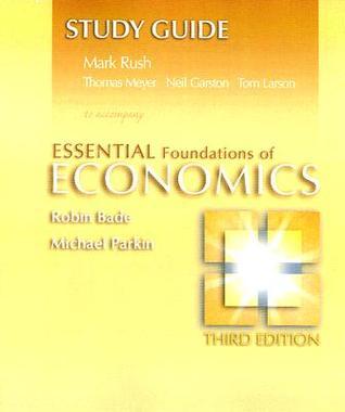 Essentials Foundations of Economics