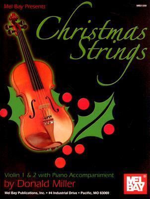 Christmas Strings: Violin 1 & 2 with Piano Accompaniment: Solo