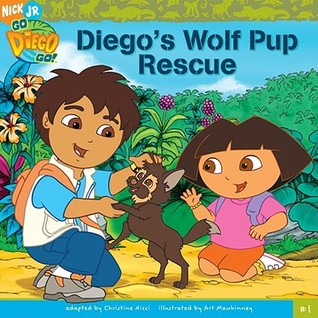 Diego's Wolf Pup Rescue by Christine Ricci