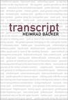 transcript by Heimrad Backer