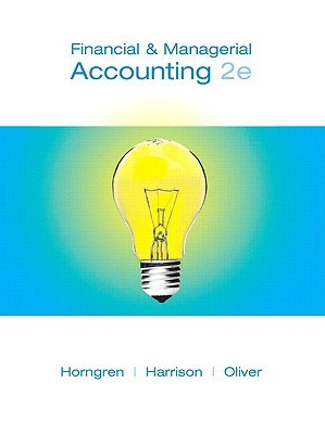 Financial and Managerial Accounting, Chapters 15-23