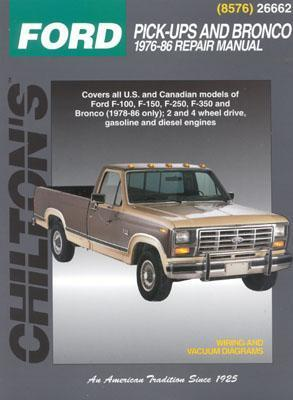 Ford Pick-Ups and Bronco, 1976-86