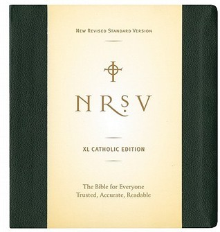 Holy Bible: NRSV XL Catholic Edition