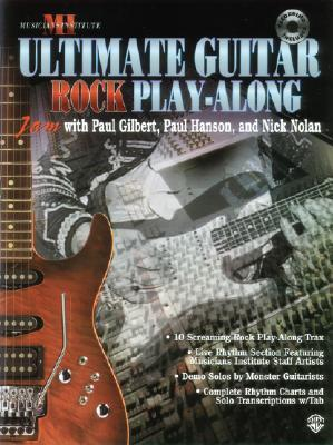 Ultimate Play-Along Guitar Trax Rock: Book & CD [With CD]