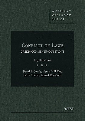 Conflict of Laws by Roger C. Cramton
