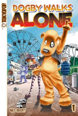 Dogby Walks Alone Volume 1 Manga by Wes Abbott