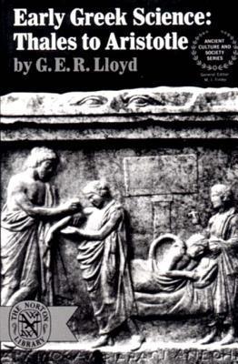 Early Greek Science by G.E.R. Lloyd