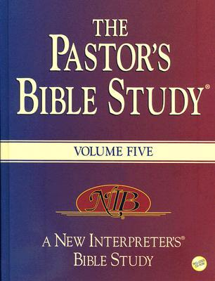 The Pastor's Bible Study, Volume 5 [With CDROM]