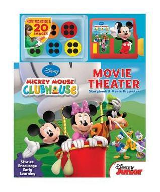 Mickey Mouse Clubhouse Movie Theater: Storybook and Movie Projector