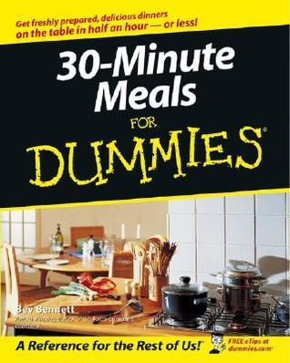 30-Minute Meals For Dummies 978-0764525896 DJVU PDF FB2 por Beverly Lynn Bennett