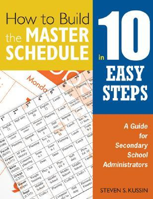 How to Build the Master Schedule in 10 Easy Steps: A Guide for Secondary School Administrators