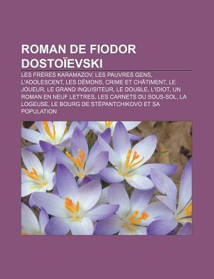 Roman de Fiodor Dostoïevski
