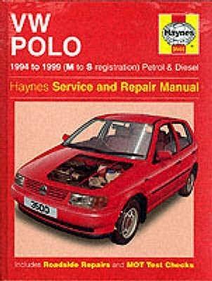 VW Polo Hatchback (94-99) Service & Repair Manual: 1994-1999