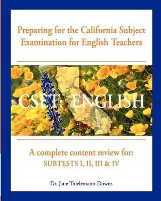 Cset: English Preparing for the California Subject