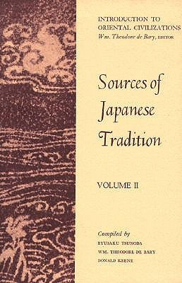 Sources of Japanese Tradition: Volume II