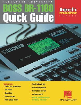 Boss Br-1180 Quick Quide: Alexander University